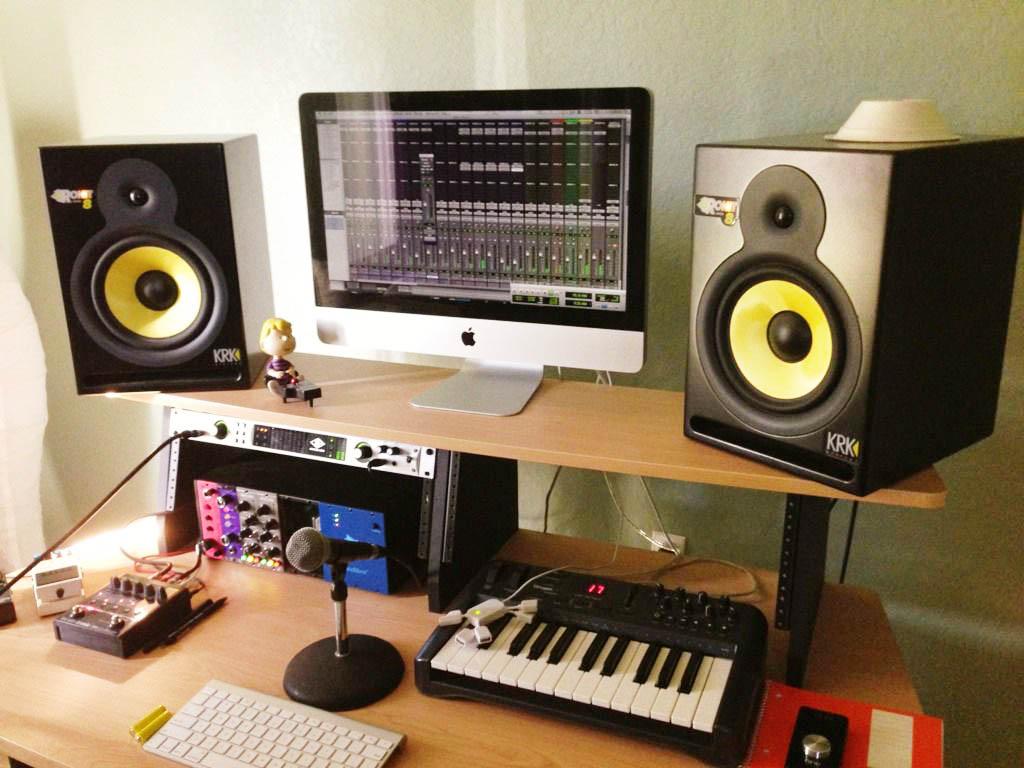 Запись студийного аудио в домашних условиях