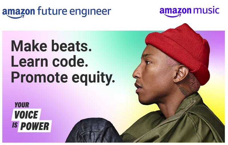 Равенство через творчество: коллаборация Amazon, Yellow by Pharell Williams и Технологического института Джорджии