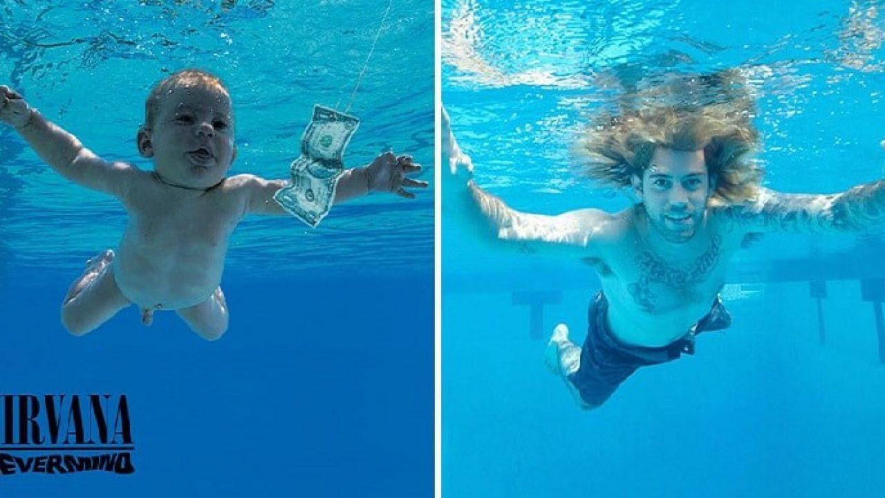 """Парень с обложки альбома """"Nevermind"""" Nirvana подал в суд на группу"""