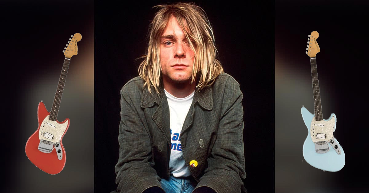 Fender переиздают Jag-Stang Курта Кобейна к 30-летию альбома Nevermind